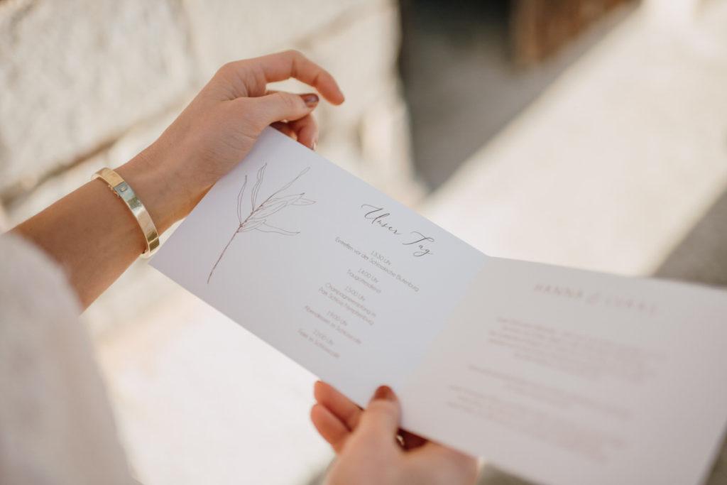 Passende Papeterie und Dekoration für die Hochzeit, ausgewählt von Julia Leifheit, Wedding Day Managerin aus München