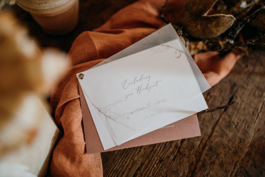 Feine Papeterie und Dekoration für die Hochzeit, ausgewählt von Julia Leifheit, Wedding Day Managerin und Hochzeitsplanerin aus München