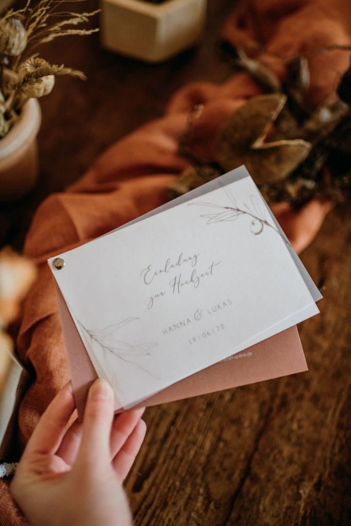 Feine Papeterie und Tischdekoration für Hochzeiten, ausgewählt von Julia Leifheit, Wedding Day Managerin und Hochzeitsplanerin aus München