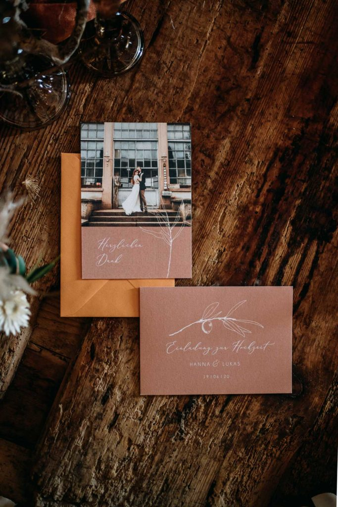 Feine Papeterie für Hochzeitseinladungen, ausgewählt von Julia Leifheit, Hochzeitsplanerin und Wedding Day Managerin aus München