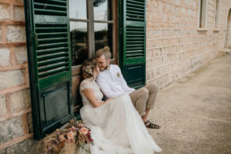 Finca Wedding im Bohemian Look für die Braut, Hochzeitsplanung von Julia Leifheit aus München