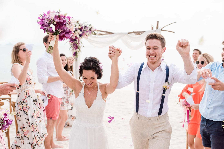 Strandhochzeit mit Hochzeitsplanerin Julia Leifheit